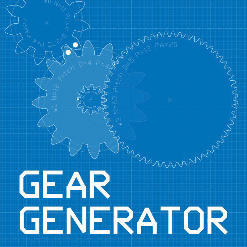 Gear Generator Make Your Own Circuit Online Shareimage